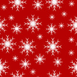 Seamless Christmas Snowflakes Royalty Free Stock Photography