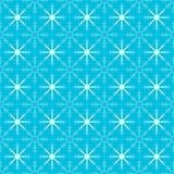 Seamless Christmas snowflakes Stock Image