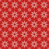 Seamless Christmas snowflakes Stock Photo