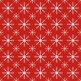 Seamless Christmas snowflakes Stock Photos