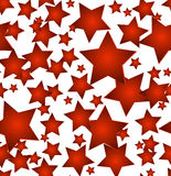 Seamless christmas star background Stock Image
