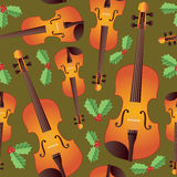 Seamless Christmas Strings Royalty Free Stock Photos