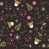 Seamless christmas texture Stock Image