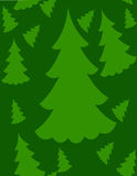Seamless Christmas Tree  Royalty Free Stock Photo