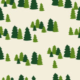 Seamless christmas tree pattern. Background design Royalty Free Stock Photography