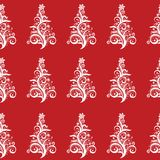 Seamless Christmas Tree pattern! Vector eps10 Royalty Free Stock Photos