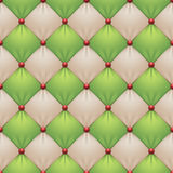 Seamless Christmas upholstery background, checkered illustration Royalty Free Stock Photo