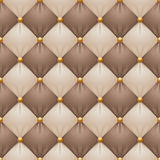 Seamless Christmas upholstery background, checkered illustration Stock Photo
