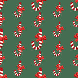Seamless christmas vector illustration background Royalty Free Stock Images