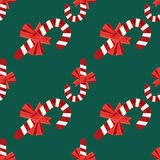 Seamless christmas vector illustration background Stock Photos
