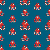 Seamless christmas vector illustration background Royalty Free Stock Photo