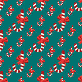 Seamless christmas vector illustration background Stock Photography