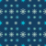 Seamless christmas vector illustration background Royalty Free Stock Photos
