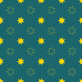 Seamless christmas vector illustration background Royalty Free Stock Photography