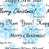 Seamless Christmas wallpaper Royalty Free Stock Image