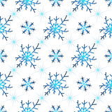 Seamless christmas white pattern Royalty Free Stock Photo