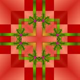 Seamless Christmas Wrapping Paper. A completely seamless pattern that can be tiled across the background area of your design Royalty Free Stock Photo