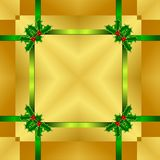 Seamless Christmas Wrapping Pattern Stock Photography