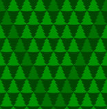 Seamless christmass background. Wrapping paper pattern. Xmas tree seamless green background Stock Image