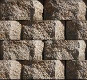 Seamless Cinder block Background Tile Stock Images