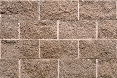 Seamless Cinderblock Wall Background Royalty Free Stock Photo
