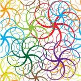 Seamless circle. Stock Image