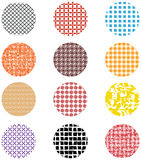 Seamless circle abstract Stock Images