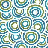 Seamless circle background. Abstract seamless Royalty Free Stock Photography