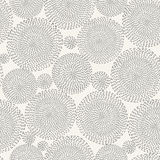 Seamless circle background pattern with round shapes Stock Photos