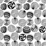Seamless circle background, seamless pattern with round shapes Royalty Free Stock Photo