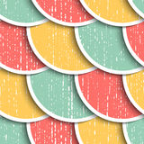 Seamless Circle Background stock illustration