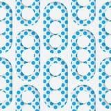 Seamless Circle Design. Futuristic Tile Pattern Royalty Free Stock Photos