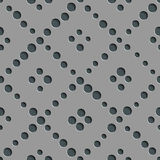 Seamless Circle and Diagonal Stripe Pattern Royalty Free Stock Photos