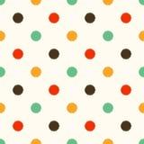 Seamless circle dots background Royalty Free Stock Image