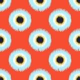 Seamless circle dots pattern Royalty Free Stock Photos