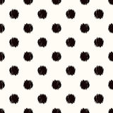 Seamless circle dots pattern Royalty Free Stock Image