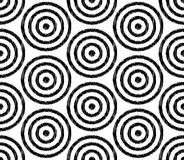Seamless circle mesh textured pattern Stock Photo