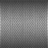 Seamless circle metal grill pattern Royalty Free Stock Photos