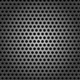 Seamless circle metal surface texture Stock Image