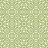 Seamless circle ornamental pattern background Stock Photo