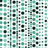 Seamless circle pattern. Seamless vector retro circle pattern Stock Photos