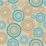Seamless circle pattern royalty free illustration