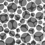 Seamless circle pattern Royalty Free Stock Images