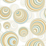 Seamless Circle Pattern. Or Wallpaper Vector Illustration