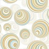 Seamless Circle Pattern Stock Photography