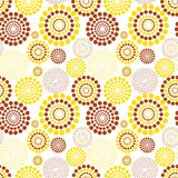Seamless circle pattern Stock Photography