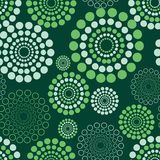 Seamless circle pattern Stock Photos