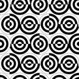 Seamless circle pattern Stock Photo