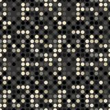 Seamless circle pattern. Circles pattern in fashion trend colors Royalty Free Stock Photos