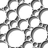 Seamless circle pattern Royalty Free Stock Photos